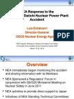 NEA Response to the Fukushima Daiichi Nuclear Power Plant Accident, Luis Echávarri, Deputy Director General, OECD - NEA
