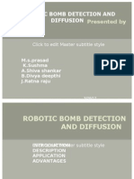 Robotic Bomb Detection Ppt
