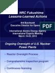 U.S. NRC Fukushima Lessons Learned - Borchardt