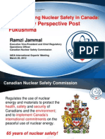 Strenghtening Nuclear Safety in Canada - Ramzi Jamal, CNSC