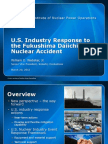 US Industry Response (W. Webster)