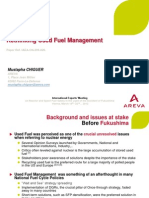 Rethinking Used Fuel Management-France-M Chiguer; AREVA