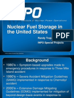 Nuclear Fuel Storage in the United States - Tropasso IAEA Presentation