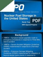 Nuclear Fuel Storage in the United States - Tropasso IAEA Presentation