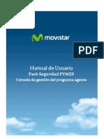 Manual ConsolaAgente PackSeguridad PYMES