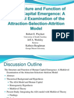 The Structure and Function of Human Capital Emergence