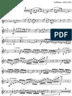Albinoni - Adagio - 01 Violin 1