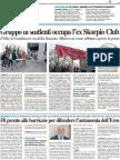 Gruppo di studenti occupa l'ex Skorpio Club - Il Resto del Carlino del 25 marzo 2012
