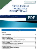 3. Gestiunea Riscului in Tranzactiile Inter Nation Ale 1