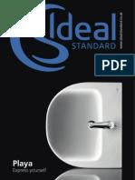 Bathroom Suites by Ideal Standard - PLAYA Brochure 2011