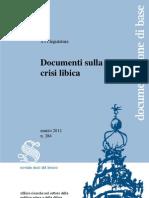 Documenti Sulla Crisi Libica