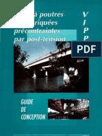 ponts à poutres préfabriquées précontraintes par post-tension