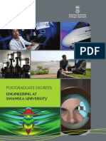 Postgraduate Degrees at the College of Engineering