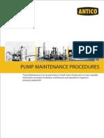 Pump Maintenance Procedures 1