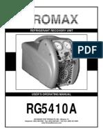 Promax RG5410A (recolha de fluídos) frio