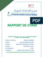 Premier Rapport de Stage Mr.taguenit