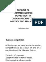 Cost Control Presentation
