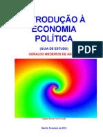 INTRODUÇÃO A ECONOMIA POLÍTICA
