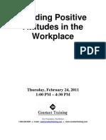 Attitudes Workbook
