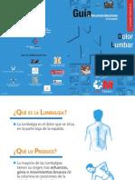 Guía de recomendaciones al paciente con dolor lumbar
