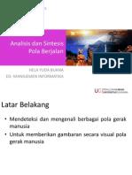 Analisis Dan Sintesis Pola Berjalan
