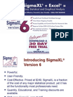 Introducing SigmaXL Version 6