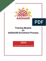 Module2 Aadhaar Enrolment Process Ver1.0[1]