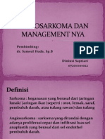 Angiosarkoma Dan Management Nya