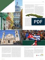Dalla rivista  IV magazine articolo su Cuba l'Avana