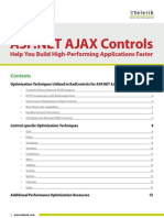 Rad Controls for ASP.net AJAX Performance Whitepaper