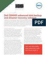 Dell_DR4000 Deduplication Appliance
