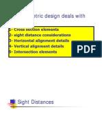 3 Sight Distances