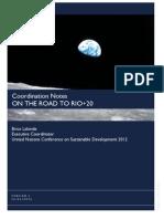 RSE - Coordination Notes RIO