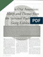 Atencion según G.  Kühlewind