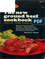 The New Ground Beef Cookbook