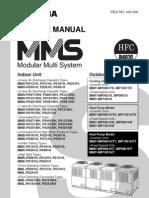 Toshiba VRF MMS Service Manual