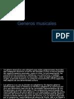 Generos Musicales Luzzzz