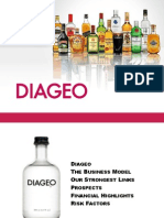 diageo case study Diageo case study: asset care makes strong case for internal ownership posted on 9 sep 2010 by the manufacturer as one of the biggest names in the drinks sector.