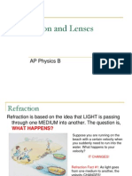 AP Physics B - Refraction and Lenses