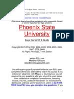 991 PSU Gunsmith Course for Basic Master Journeyman