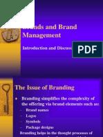 Brands & Branding Management Presentation & Discussion