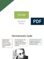 Narative Theory Final