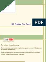 RC Practice Five-1