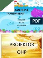PENGGUNAAN OHP & TRANSPARENSI
