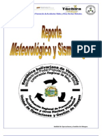 Reporte meteorológico y sismológico 26032012