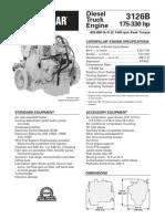 CATERPILLAR® ENGINE SPECIFICATIONS
