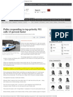 chicago pd priority one response calls