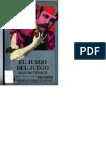 Jean Duvignaud El Juego Del Juego