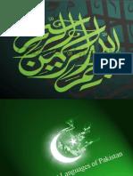 Different Languages of Pakistan 121