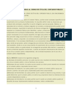 Amenazas y Salvaguardas Al Codigo de Etica Del Contador Publico